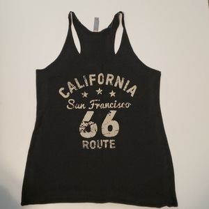 San Francisco Route 66 Racer Back Tank Top
